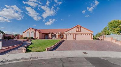 Boulder City Single Family Home Under Contract - No Show: 1637 Indian Wells Drive