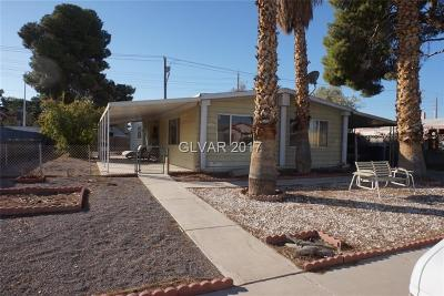 Las Vegas Manufactured Home Contingent Offer: 5217 Sir James Way