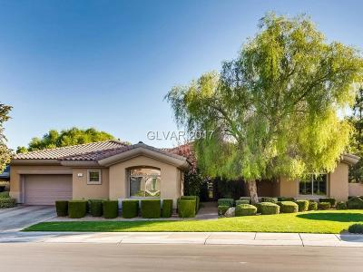 Henderson NV Single Family Home For Sale: $970,000