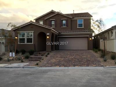 Las Vegas Single Family Home For Sale: 12225 Terrace Verde Avenue