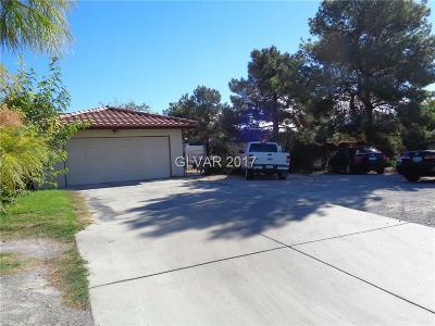 Las Vegas  Single Family Home For Sale: 7229 Jones Boulevard