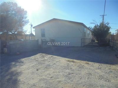 Las Vegas Manufactured Home For Sale: 2275 Castleberry Lane