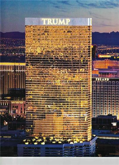 Trump Intl Hotel & Tower-, Trump Intl Hotel & Tower- Las High Rise For Sale: 2000 Fashion Show Drive #6001