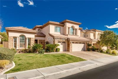Las Vegas Single Family Home For Sale: 2868 Middle Earth Street