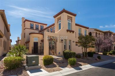 Las Vegas Single Family Home Contingent Offer: 153 Crooked Putter Drive