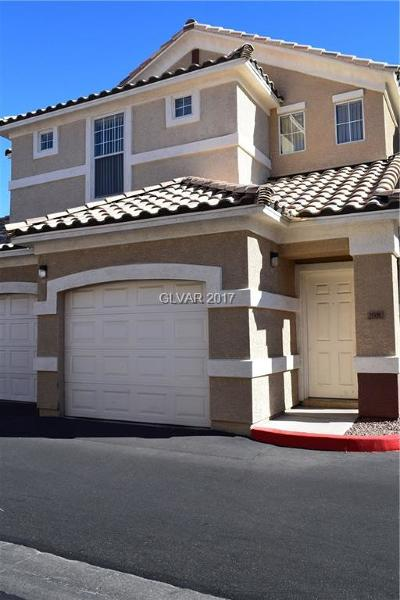 North Las Vegas Condo/Townhouse Contingent Offer: 5855 Valley Drive #2008