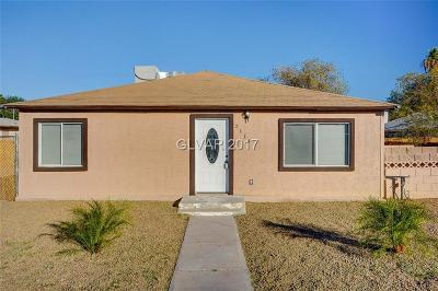 North Las Vegas Single Family Home Contingent Offer: 2118 Statz Street