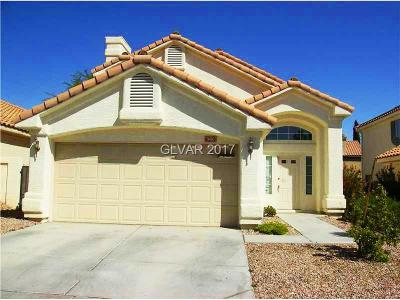 Single Family Home Contingent Offer: 9416 Valencia Canyon Drive