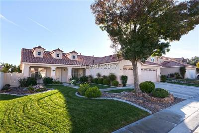 North Las Vegas Single Family Home For Sale: 937 Stable Glen Drive