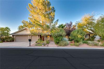Las Vegas Single Family Home For Sale: 8400 Gordo Way