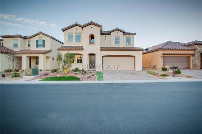 Las Vegas Single Family Home For Sale: 81 Crooked Putter Drive
