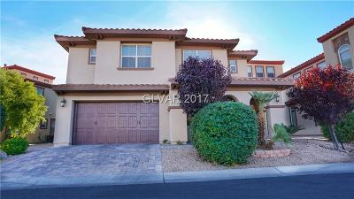 Las Vegas Single Family Home For Sale: 235 Crooked Putter Drive