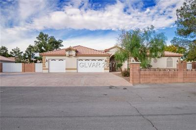 Las Vegas NV Single Family Home For Sale: $629,900