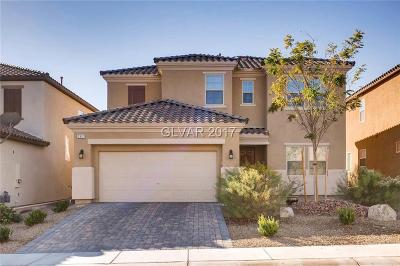 Las Vegas Single Family Home For Sale: 207 Augusta Course Avenue
