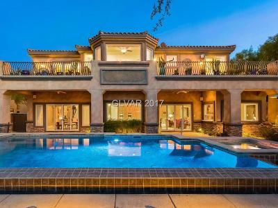Boulder City, Henderson, Las Vegas, North Las Vegas Single Family Home For Sale: 32 Via Siena Place