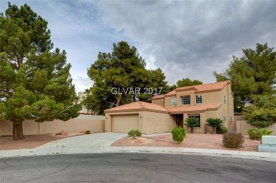 Las Vegas Single Family Home For Sale: 9836 Russett Wood Circle