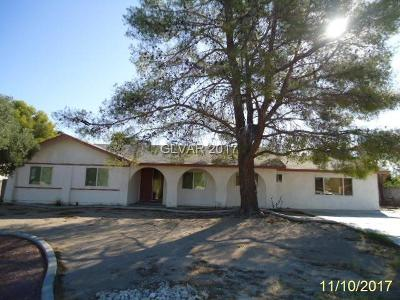 Las Vegas Single Family Home Contingent Offer: 8028 Martingale Lane