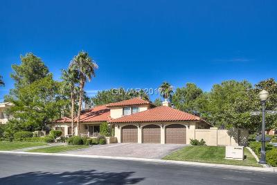 Las Vegas Single Family Home For Sale: 40 Congressional Court
