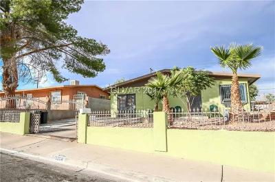 Las Vegas NV Single Family Home For Sale: $170,000