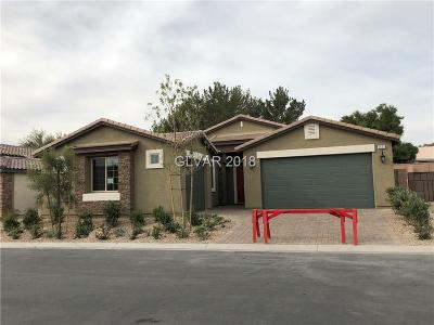 Las Vegas Single Family Home For Sale: 5653 Mystical Knight Court #Lot 4