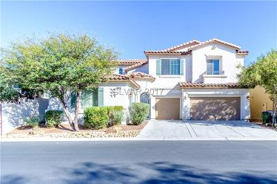 Las Vegas NV Single Family Home For Sale: $478,000