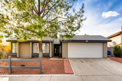 Las Vegas Single Family Home For Sale: 4281 Satinwood Drive