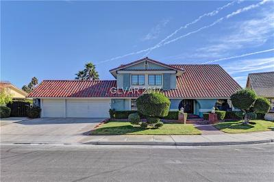 Las Vegas Single Family Home For Sale: 1909 Villa De Conde Way