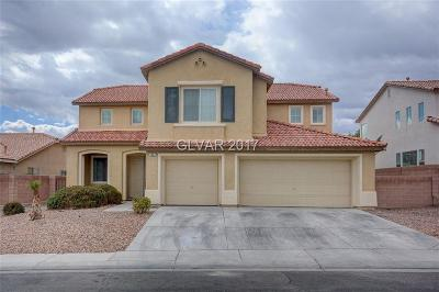 North Las Vegas Single Family Home For Sale: 1607 Gentle Brook Street