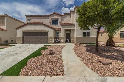 North Las Vegas Single Family Home For Sale: 6115 Cozy Creek Street
