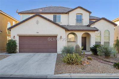 North Las Vegas Single Family Home Contingent Offer: 5463 Hidden Rainbow Street