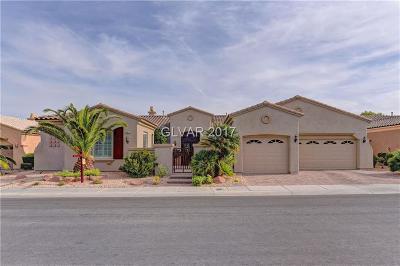 Las Vegas Single Family Home For Sale: 4972 Alfingo Street