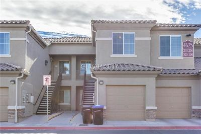 Las Vegas Condo/Townhouse For Sale: 4625 Centisimo Drive #203