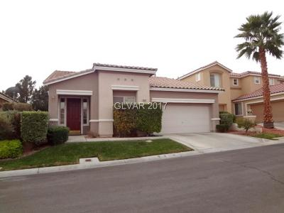 Las Vegas Single Family Home For Sale: 10137 Snow Crest Place