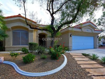 Las Vegas Single Family Home Contingent Offer: 7929 Aspect Way