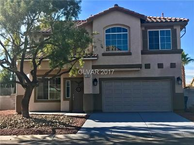 Las Vegas Single Family Home For Sale: 1165 Fairchild Street