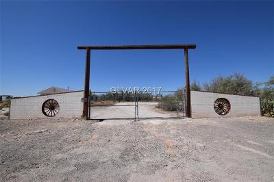 Las Vegas Single Family Home For Sale: 7559 Amigo Street
