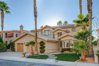 Las Vegas Single Family Home For Sale: 2485 Sun Reef Road