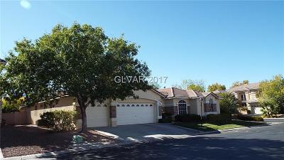 Las Vegas NV Single Family Home Under Contract - No Show: $535,000