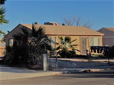 North Las Vegas Single Family Home For Sale: 2632 Bello Drive