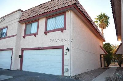 Las Vegas Condo/Townhouse For Sale: 5475 Escondido Street