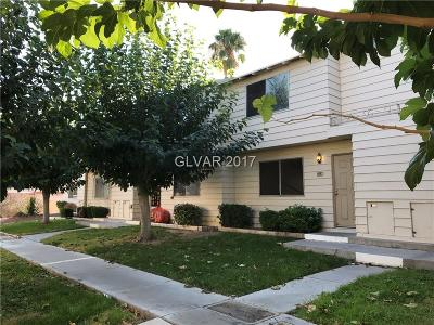 Las Vegas Condo/Townhouse For Sale: 4627 Mill Valley Drive