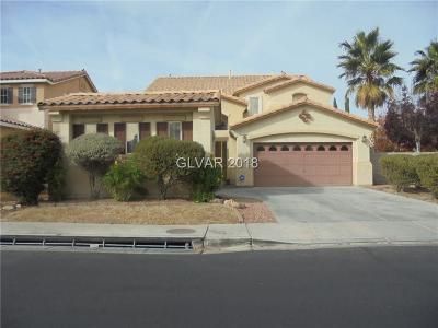 Las Vegas  Single Family Home For Sale: 1501 Ravanusa Drive