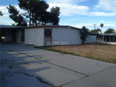 Las Vegas NV Single Family Home For Sale: $139,900