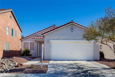 Las Vegas Single Family Home For Sale: 11860 Galvani Street