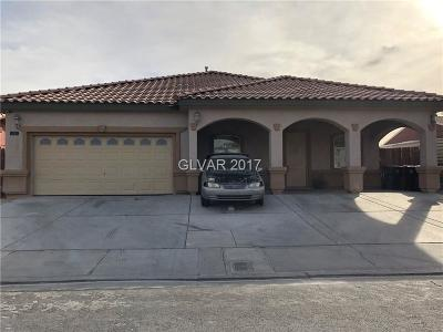 North Las Vegas Single Family Home For Sale: 3709 Canoga Avenue