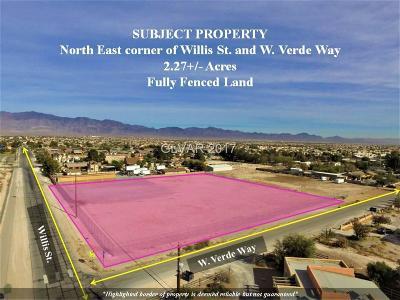 North Las Vegas Residential Lots & Land For Sale: Willis Street