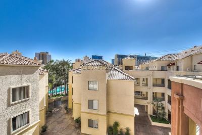 Las Vegas Condo/Townhouse For Sale: 220 Flamingo Road #215