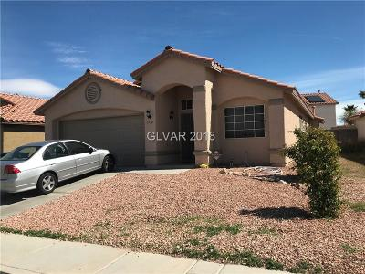 North Las Vegas Single Family Home For Sale: 3934 McGregor Way