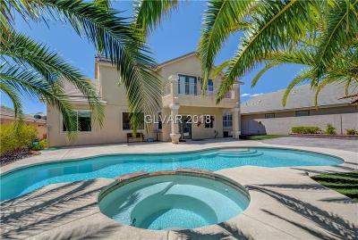 Las Vegas Single Family Home For Sale: 5696 Winter Star Court