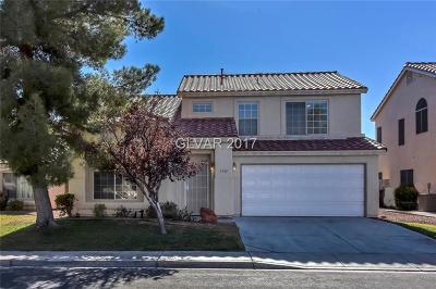 North Las Vegas Single Family Home Contingent Offer: 1735 Ashburn Drive